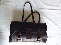 authentic Gucci Vintage two tone bag di Leschosesdemanu su Etsy
