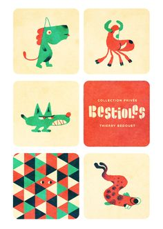 Bestioles by Thierry Bedouet