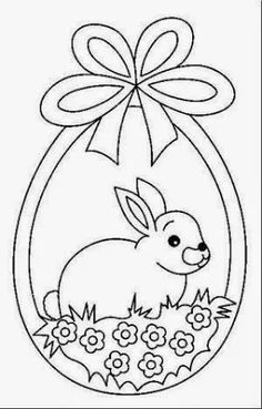 windowcolor - Coloring picture - Coloring picture for children - Window Color - windowcolor – Coloring picture – Coloring picture for children – Window Color - Easter Coloring Sheets, Bunny Coloring Pages, Easter Colouring, Coloring Books, Easter Worksheets, Easter Printables, Easter Activities, Rabbit Crafts, Bunny Crafts