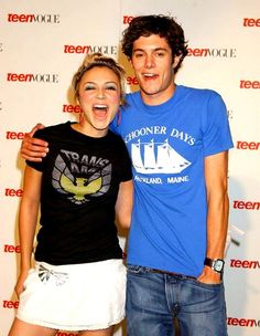 samaire armstrong and adam brody