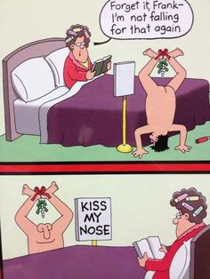 Kiss my nose