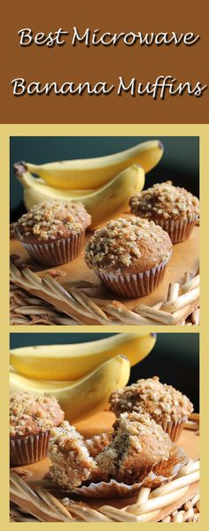 You Must Try The Best Microwave Banana Muffins