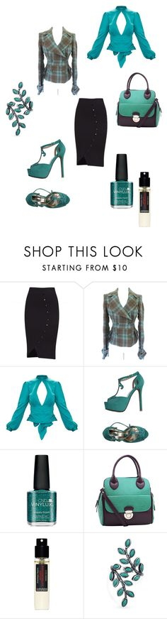 """Untitled #1067"" by cassandramortmain ❤ liked on Polyvore featuring CND, Dasein, Frédéric Malle and Bling Jewelry"