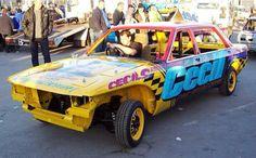 194 Demolition Derby, Weird Cars, Exotic Cars, Race Cars, Monster Trucks, Racing, Dreams, Drag Race Cars, Running