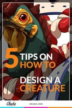 5 Tips on How to Design a Creature chicken champion anime tutorial how to draw drawing tips how to cel shade cel shading manga art anime art free tutorial digital art tutorial step-by-step step by step anime illustrations coloring tips s Drawing Cartoon Characters, Manga Characters, Cartoon Drawings, Animal Drawings, Creature Drawings, Character Design Tutorial, Game Character Design, Character Drawing, Shading Drawing