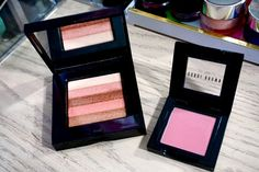 Bobbi Brown really knows how to do pinks! Desert Pink Blush and limited edition Sunset Pink Shimmer Brick make one gorgeous pink combo