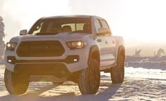 The all-new 2017 Toyota Tacoma TRD Pro - redefining off-roading capabilities