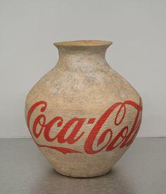 Ai Wei Wei Coca-Cola Vase