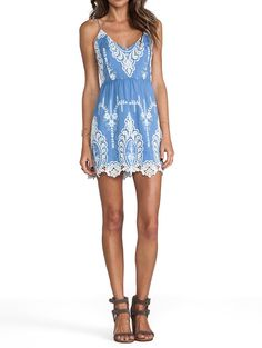 Dolce Vita Blue Embroidered Open Back Lace Fit Flare Mini New Dress. Free shipping and guaranteed authenticity on Dolce Vita Blue Embroidered Open Back Lace Fit Flare Mini New DressDolce Vita Embroidered Open Back Dress   Size ...