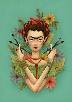Frida Kahlo by me by instand.deviantart.com on @deviantART: