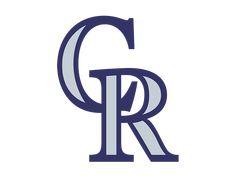 Colorado Rockies Logo Cleveland Indians Logo, Cleveland Browns Logo, Cincinnati Reds, Colorado Rapids, Colorado Rockies, Painting Kids Furniture, White Sox Logo, Rockies Baseball, New York Yankees Baseball