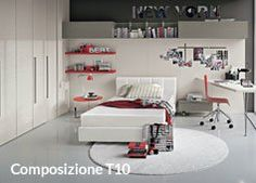 Tomasella camerette ~ Young bedroom by tomasella available at archisesto archieseto