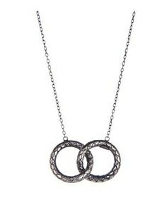 Bottega Veneta Silver Pendant #accessories  #jewelry  #necklaces  https://www.heeyy.com/suggests/bottega-veneta-silver-pendant-argento-antico-lucid/