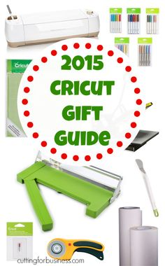 Must see pin: 2015 Cricut Explore, Explore Air Christmas Gift Guide 2015 by cuttingforbusiness.com