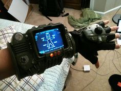 """carneyscave:  gamefreaksnz:  Fallout 3 Pip-Boy 3000 Do. Want! Check out the making of video.  Im not worthy!!!!   """