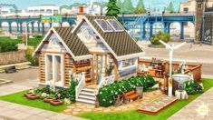 Sims 4 House Building, Sims House Plans, Sims 4 House Design, Sims 4 Build, Sims 4 Houses, The Sims4, Sims Cc, Architecture, Decoration