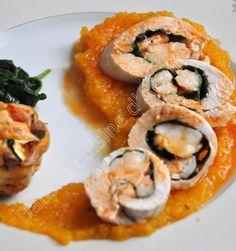 En ce dimanche, voici une recette un peu classe, idéale pour un menu Terre & Mer. Elle reste économique car on utilise des crevettes et non des langoustines. Surtout, prenez des crevettes crues (grises) avec leur carcasse car les têtes et les carcasses...