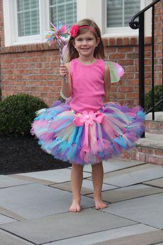 Prettiest Fairy Costume Tutu Set Baby Tutus by PirouetteBoutique, $49.45