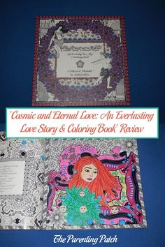 Cosmic and Eternal Love: An Everlasting Love Story & Coloring Book weaves a traditional Indian love story with incredibly detailed black and white drawings to color. The 96-page adult coloring book currently costs $19.99, which I consider quite reasonable for a coloring book that becomes a regular reading book. The intricate black and white pictures throughout the book are a joy to color. I definitely recommend Cosmic and Eternal Love from artist Amrita Sen to all coloring fans.