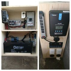 The electrical cabinet on the sprinter is finished! ✓ 1500 watt inverter ✓ Battery charger ✓ 110 shore power hookup ✓ 200ah sealed battery ✓ 12v charging and switches ✓ Solar charge controller Can anyone think of anything this needs!? . . . . . #vanbuild #sprintervan #electrical #solar #inverter #rv #camper #power #charging #vanideas #vanlife #diyvan #campervan #vanconversion @sprintercampervans @_thevanlife @vanlifeideas @vanlife_conversions
