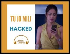 Tu jo mili Hindi lyrics song taken from the Bollywood movie which is Hacked. Its song sung by Yasser Desai who is Indian playback singer. Bollywood Movie Songs, Films, Movies, Song Lyrics, Singing, Music Lyrics, Lyrics, Movie Quotes, Movie Quotes
