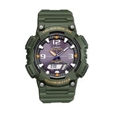 Casio Watch Army Relogios 2017 Free shipping Men Quartz Wrist Watch AQ-S810W-1A sports Swim Back Light Solar Power rubber band