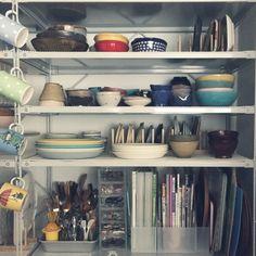 Other、家族住まいの無印良品の家/無印良品/ディッシュスタンド/スチールユニットシェルフ/食器棚…などについてのインテリア実例を紹介。(この写真は 2016-02-28 21:20:00 に共有されました)
