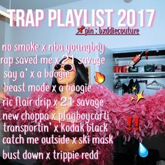 45 Ideas for music playlist trap Music Mood, Mood Songs, New Music, Music Quotes, Music Songs, Lit Songs, Music Hacks, Rap Playlist, Song Recommendations