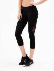 Luxury Women's Activewear | Cropped Workout Tight | Style meet Sport | Alala