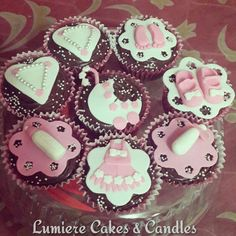 Baby theme cupcakes