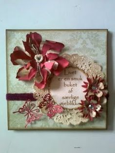 ...one of Gitte1's beautiful cards