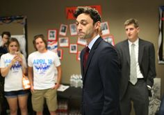4/21/17 Ossoff Campaign: Jon Didn't Vote in 2012 Because He Was Studying Abroad    Ossoff left for London in September 2012, his campaign said. Prior to moving to London, Ossoff was working in Congress as a legislative assistant to Rep. Hank Johnson (D., Ga.), who once compared Jewish settlers to termites.