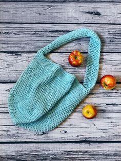 Tunisian Crochet Market Bag Pattern | AllFreeCrochet.com
