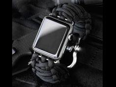 Survival Straps® Paracord Apple Watch Bands
