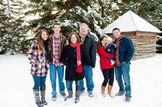Winter Family Photos ~ Cascio Photography