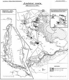Battle of Mohacs Late Middle Ages, Sumerian, Teaching History, Warfare, Renaissance, Medieval, Battle, Diagram, Ottomans
