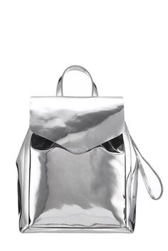 35 stylish backpacks and bags to head back to school with Silver Backpacks, Cute Backpacks, Stylish Backpacks, Leather Backpacks, Small Handbags, Handbags On Sale, Purses And Handbags, Backpack Handbags, Backpacks For Teens School