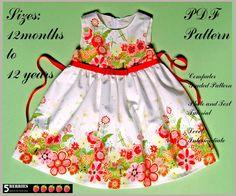 Waldorf dress  (12mos - 12yrs)