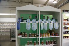 "Award winning canned foods in the Home Arts Department at the Ventura County Fair. 2013 Ventura County Fair, ""Boots, Barns & Banjos""."