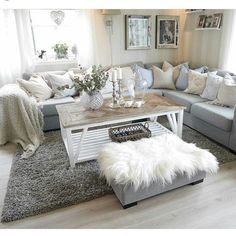 Fabulous Living Room Arrangement Ideas - Home Decoor Master Romantic Living Room, Living Room Grey, Home Living Room, Apartment Living, Living Room Furniture, Home Furniture, Living Room Decor, Wooden Furniture, Danish Furniture