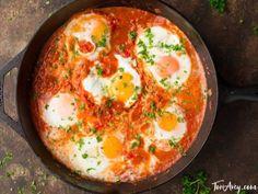 Shakshuka - Recipe & Video for Delicious Middle Eastern Egg Dish
