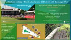De 09 à 15 de Março sua MARCA em um Stand ao lado da Sede Social do São Paulo Golfe Club - Web.com - Brasil Champions 2015! GRANDES OPORTUNIDADES DE INVESTIMENTO NO MAIOR TORNEIO DE GOLFE PROFISSIONAL COM PREMIAÇÕES HIPER ESPECIAIS!  CONFIRA