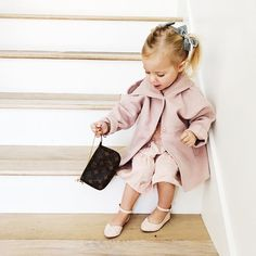 little girl in a big world #louisvuitton
