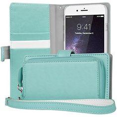 Nuova offerta in #accessorio : Cover iPhone 6s Plus TORU [ZIP WALLET] Custodia a portafoglio per iPhone 6 Plus [Inserti per carte][Tasca con cerniera][braccialetto] per iPhone 6s Plus/6 Plus - Menta a soli 19.16 EUR. Affrettati! hai tempo solo fino a 2016-08-30 23:29:00