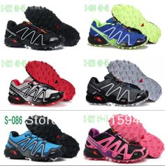 Free Shipping New Salomon Speedcross 3 Men and Women Athletic Running Shoes solomon tenis Zapatillas Hombres de correr salamon US $29.90 - 35.50