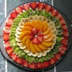 ideas fruit platter designs presentation cheese plates for 2019 Fruit Buffet, Fruit Dishes, Fruit Fruit, Watermelon Fruit, Fruit Cakes, Fruit Juice, Party Food Platters, Food Trays, Fruit Platters