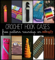 Keep Your Hooks Happy With 10 Free Crochet Hook Case Patterns! - Page 2 of 31 - Free Crochet Patterns Crochet Case, Crochet Tools, Crochet Purses, Love Crochet, Crochet Projects, Gilet Crochet, Crochet Stitches, Knit Crochet, Crochet Patterns