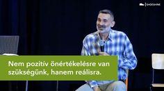 """""""Nem pozitív önértékelésre van szükségünk, hanem reálisra"""" - Pál Feri (r... Yoga, Youtube, Youtubers, Youtube Movies"""