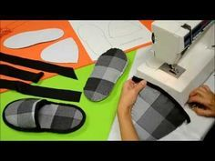 Sewing Hacks, Diy And Crafts, Learning, Slippers, Youtube, Pattern, Bags, Play, Over Knee Socks