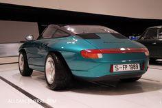 Porsche Studie Panamericana 1989 Porsche Museum 2012 - All Car Central Magazine
